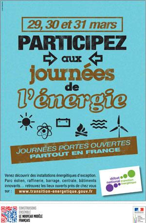 Journée de l'énergie Affiche : environnement