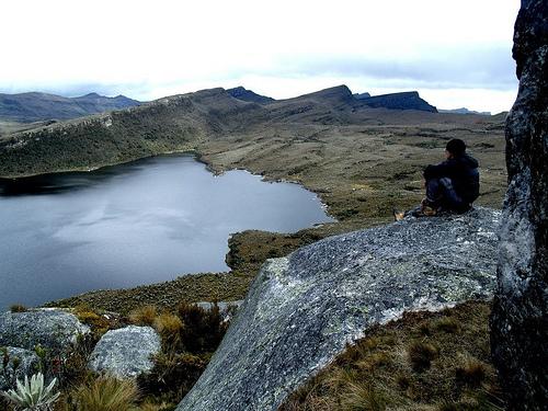 Paysage en Colombie pour la Journée de la Terre