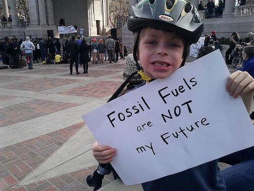 Même les enfants participent à la Journée de la Terre